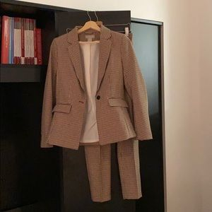H&M HOUNDSTOOTH SUIT SET